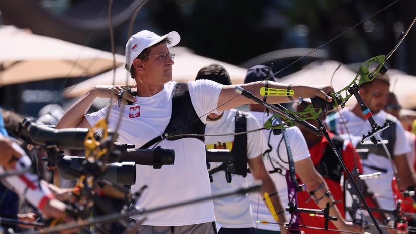Tokio 2020: Sławomir Napłoszek odpadł w pierwszej rundzie olimpijskiego turnieju łuczniczego