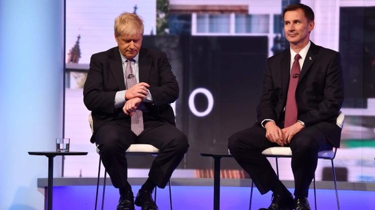 Było dziesięciu, zostało dwóch. Johnson i Hunt powalczą o schedę po premier May