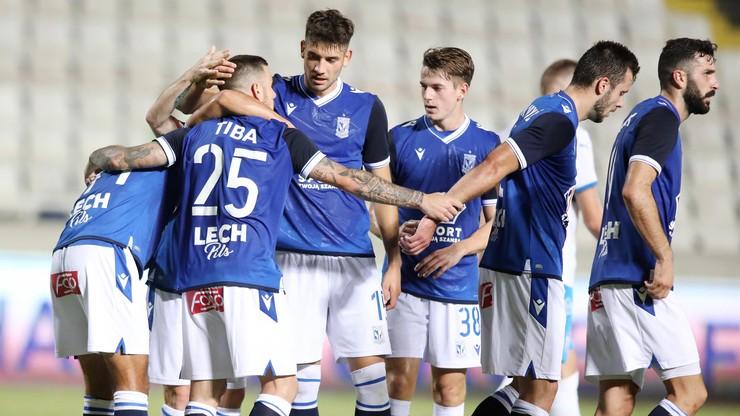 Liga Europy: Lech Poznań pokonał na wyjeździe Apollon Limassol 5:0