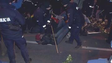 Obywatele RP zablokowali marsz ku pamięci Żołnierzy Wyklętych w Warszawie. Interweniowała policja