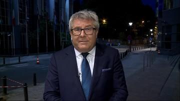 Czarnecki: kaktus mi wyrośnie na dłoni jak Polska będzie karana jakimiś sankcjami