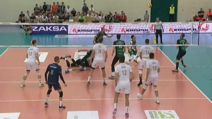 Porażka siatkarzy ZAKSY na inaugurację Krispol 1. Ligi
