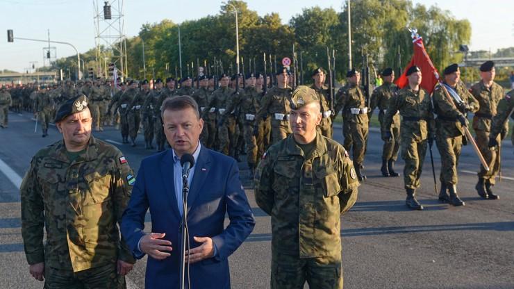 Błaszczak: moim zadaniem - wyposażenie wojska polskiego w nowoczesny sprzęt
