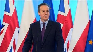 David Cameron z wizytą w Polsce. Szydło: Zależy nam, by Wielka Brytania pozostała w UE