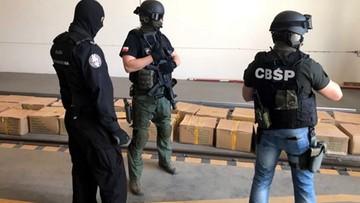 CBŚP zapobiegło gigantycznemu przemytowi narkotyków. Przejęto ponad 3 tony haszyszu