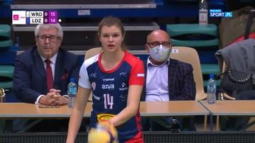 TAURON Liga: #VolleyWrocław – Grot Budowlani Łódź 2:3 (Skrót meczu)