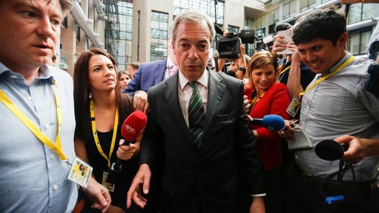 Farage zrezygnował z przewodniczenia eurosceptycznej Partii Niepodległości Zjednoczonego Królestwa