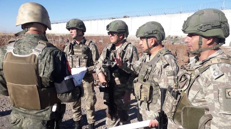 Wojska tureckie i rosyjskie prowadzą wspólne patrole naziemne w północno-wschodniej Syrii