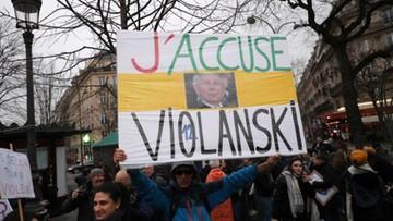 Protesty przeciwko Polańskiemu, policja użyła gazu