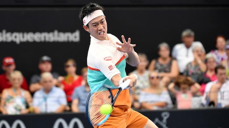 ATP w Brisbane: Nishikori i Miedwiediew w finale