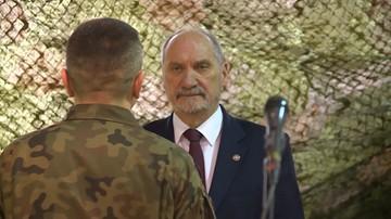 Macierewicz przyspieszył budowę struktur WOT w woj. śląskim i wielkopolskim
