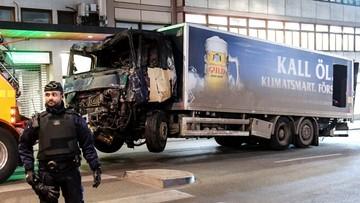 """""""Urządzenie techniczne"""" znalezione w szwedzkiej ciężarówce. Możliwe, że to bomba"""