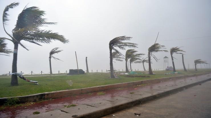 Tajfun zbliża się do Wietnamu. Ewakuowano blisko 47 tys. osób