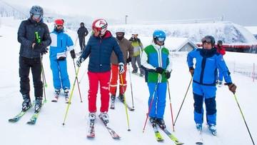 Prezydent Duda jeździł na nartach z prezydentem Słowacji