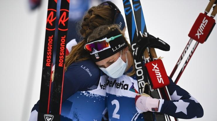 Tour de Ski: Jessica Diggins umacnia się na prowadzeniu