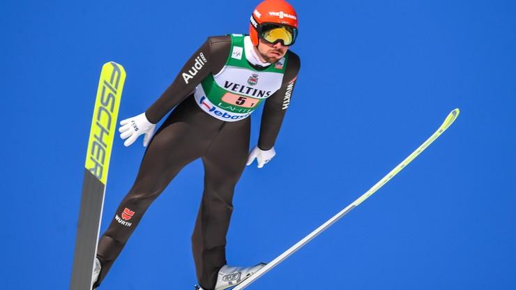 PŚ w skokach: Polacy na szóstej pozycji w Lahti, Niemcy liderami