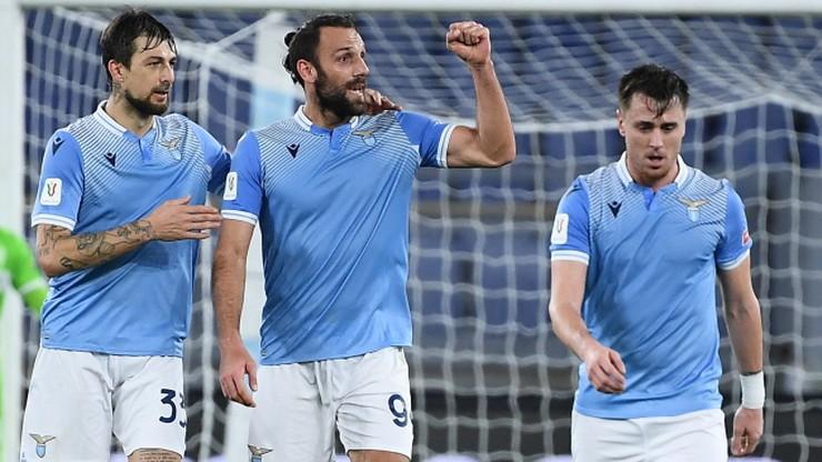 Puchar Włoch: Lazio Rzym ostatnim ćwierćfinalistą