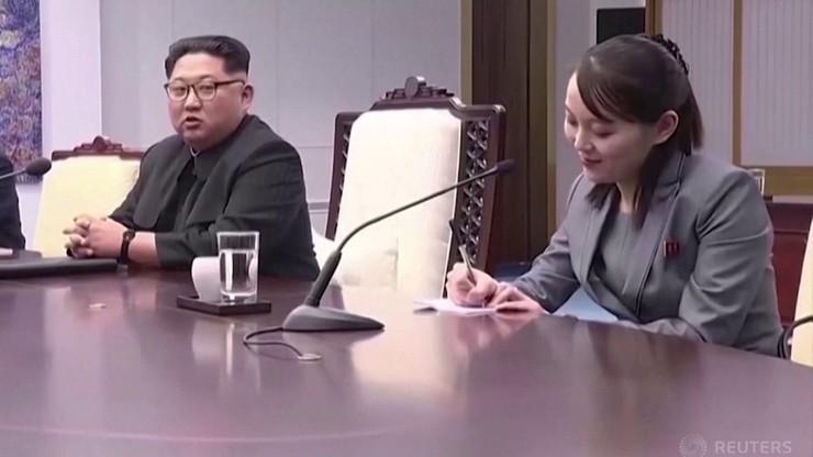 Korea Północna. Siostra Kim Dzong Una ostrzega USA i Koreę Południową