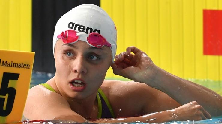 0,04 s zabrakło Polce do brązowego medalu ME w pływaniu!