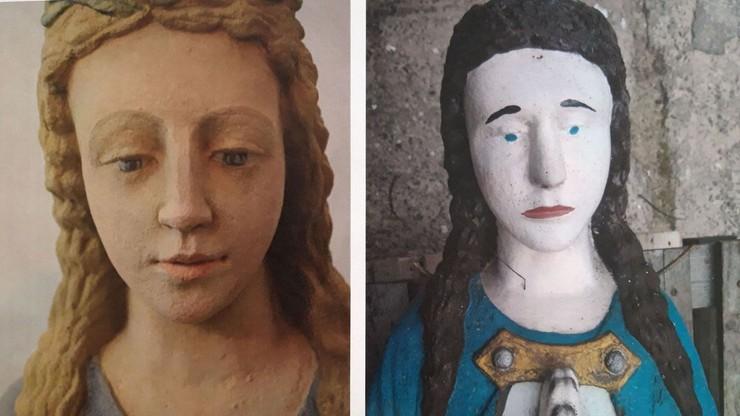 Renowacja figury Matki Boskiej. Właściciel krytykuje konserwatora