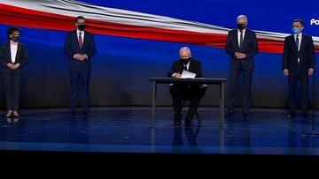 Liderzy Zjednoczonej Prawicy podpisali deklarację programową