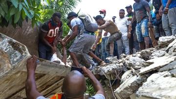 Rośnie liczba ofiar trzęsienia ziemi na Haiti. Szpital covidowy przyjmuje rannych