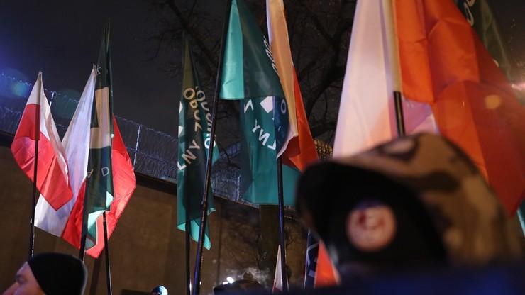 Dwie osoby zatrzymane po marszach w dniu pamięci Żołnierzy Wyklętych