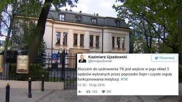 Zaskakujące słowa byłego wiceprzewodniczącego PiS. Wraca do pomysłu kompromisu ws. TK
