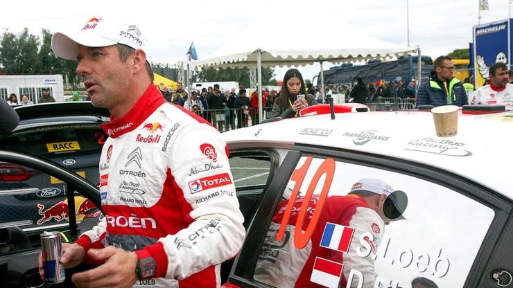 Rajdowe MŚ: Pierwszy triumf Loeba od 2013 roku