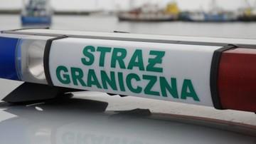 Pościg i strzelanina w centrum Krakowa. Ranny funkcjonariusz Straży Granicznej