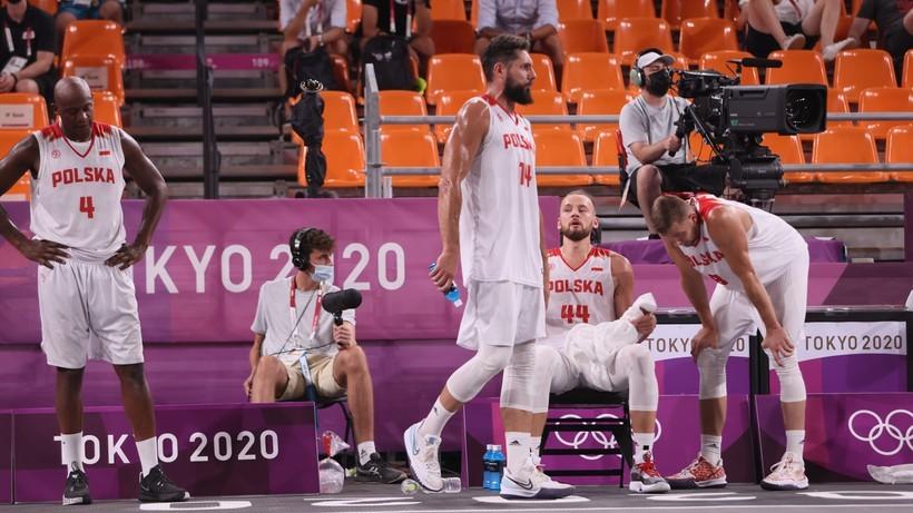Tokio 2020: Dramatyczna porażka polskich koszykarzy. Wykończył ich rzut w ostatniej sekundzie