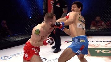 FEN 32: Mateusz Rębecki błyskawicznie znokautował rywala! (WIDEO)