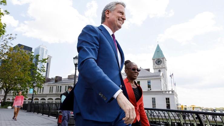 Burmistrz Nowego Jorku chce być prezydentem USA. Skrytykował Donalda Trumpa