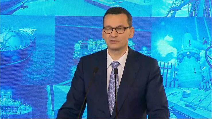 Morawiecki: powiększamy zdolności przyjmowania gazu przez terminal w Świnoujściu
