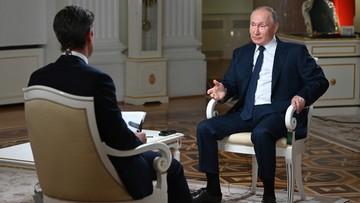Władimir Putin: nie mamy w zwyczaju zabijania nikogo