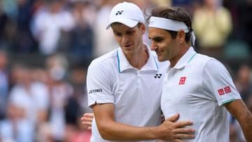 Hurkacz zdradził, co po meczu powiedział mu Federer