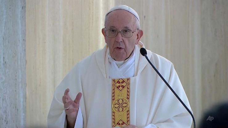 Papież zasmucony decyzją w sprawie Hagii Sophii