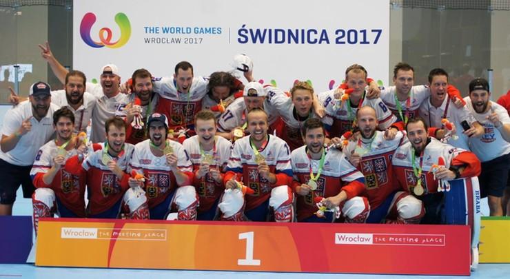 The World Games: Złoto dla Czechów w hokeju na rolkach