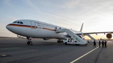 Awaria samolotu z kanclerz Merkel na pokładzie