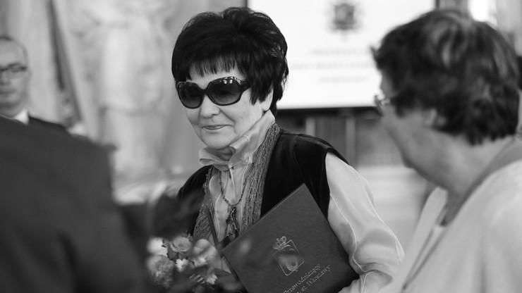 Zmarła Marta Olszewska, wdowa po byłym premierze Janie Olszewskim