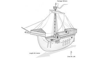 Odkryto wrak okrętu Henryka V