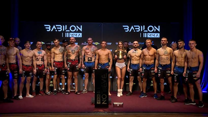 Babilon MMA 24: Wyniki ważenia