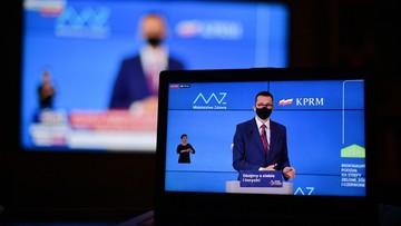 """100 dni solidarności"". Premier o walce z Covid-19"