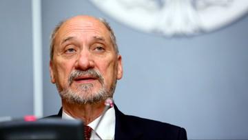 Macierewicz: ostatnie działania Rosji budzą najwyższe zaniepokojenie