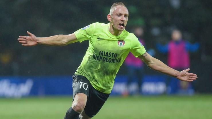 Wisła Kraków przegrała z Puszczą Niepołomice. Piękny gol pogrążył Białą Gwiazdę