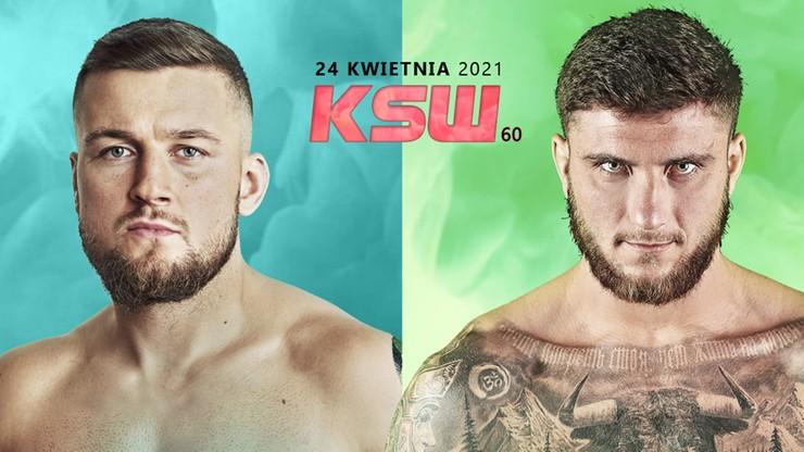 KSW 60: Kacper Koziorzębski vs Ion Surdu ostatnim pojedynkiem gali