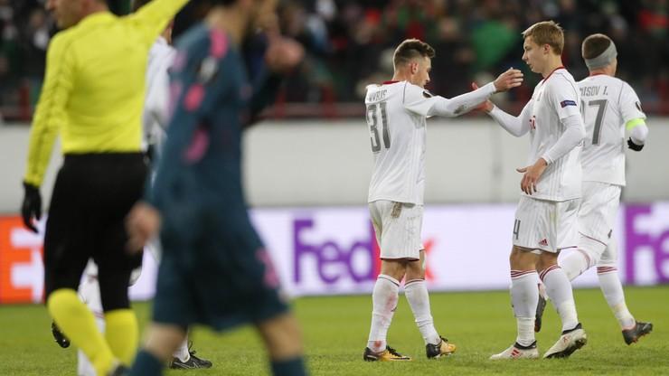 Liga Europy: Gol Rybusa na otarcie łez. Atletico wyeliminowało Lokomotiw