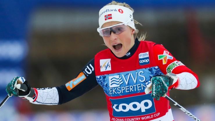 PŚ w biegach: Johaug wygrała także w Lillehammer