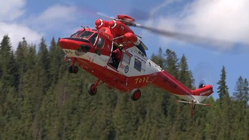 Trzy poważne wypadki w Tatrach. Dwie osoby nie żyją