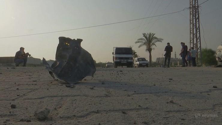 Wymiana ognia w Izraelu. Naloty na Stefę Gazy